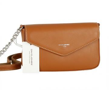 Жіноча сумка David Jones CM5088 COGNAC
