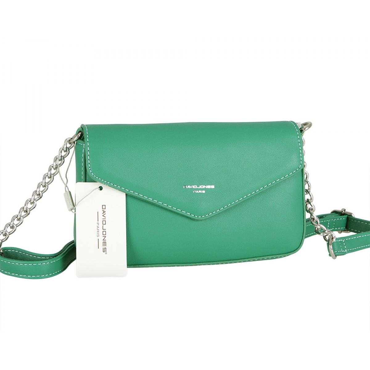 Жіноча сумка David Jones CM5088 GREEN