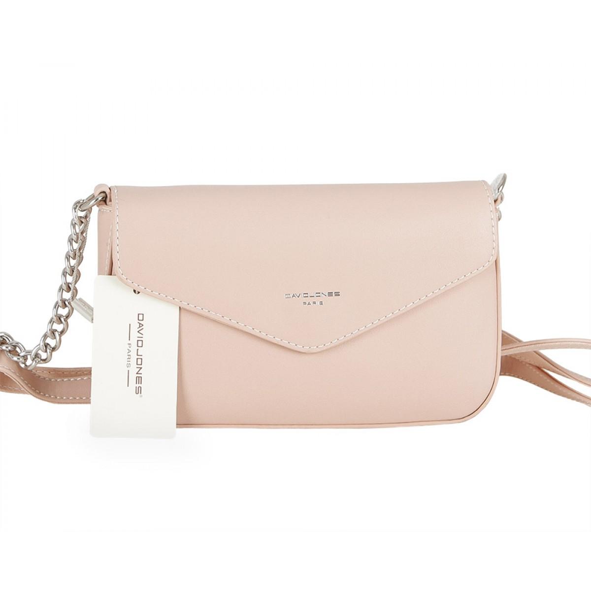 Жіноча сумка David Jones CM5088 PINK