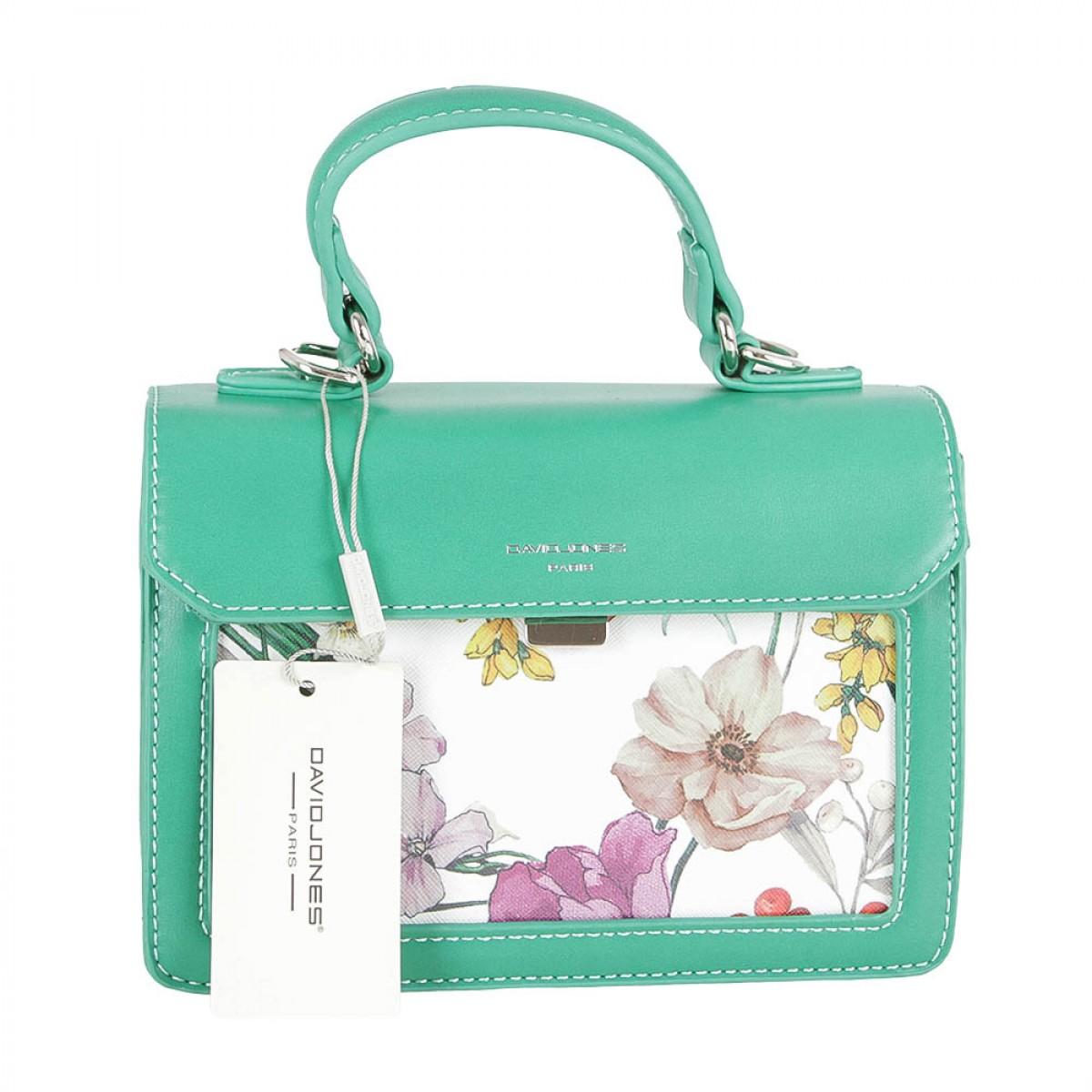 Жіноча сумка David Jones CM5110 D.GREEN