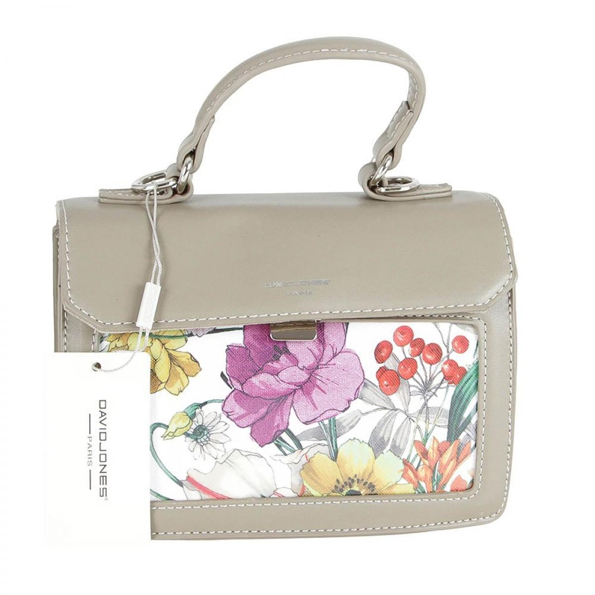 Жіноча сумка David Jones CM5110 TAUPE
