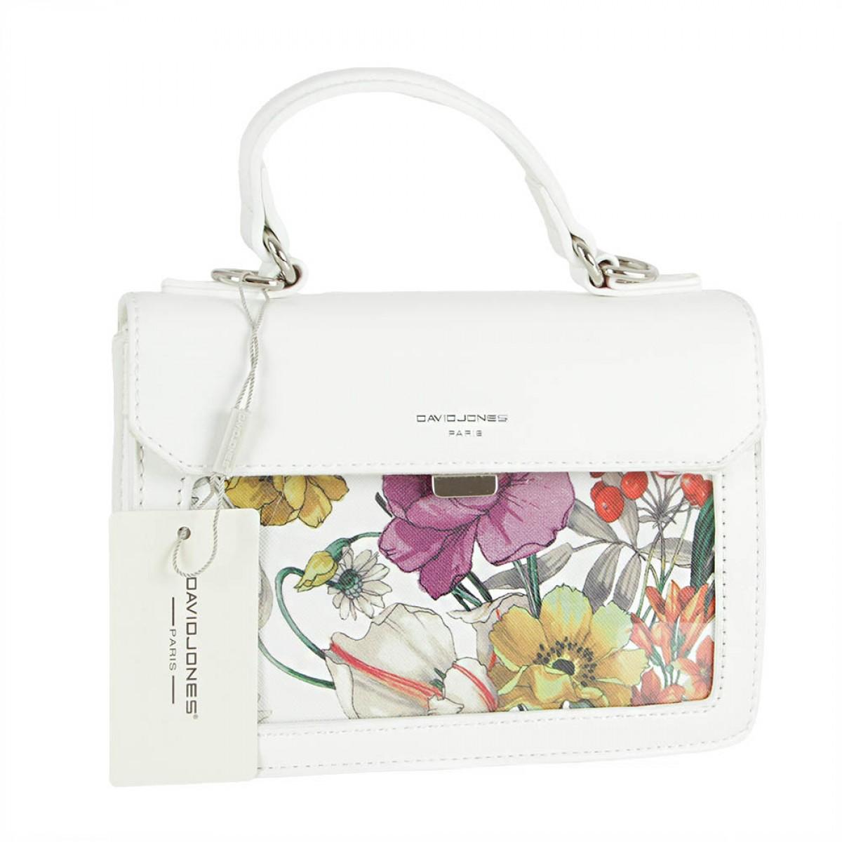 Жіноча сумка David Jones CM5110 WHITE