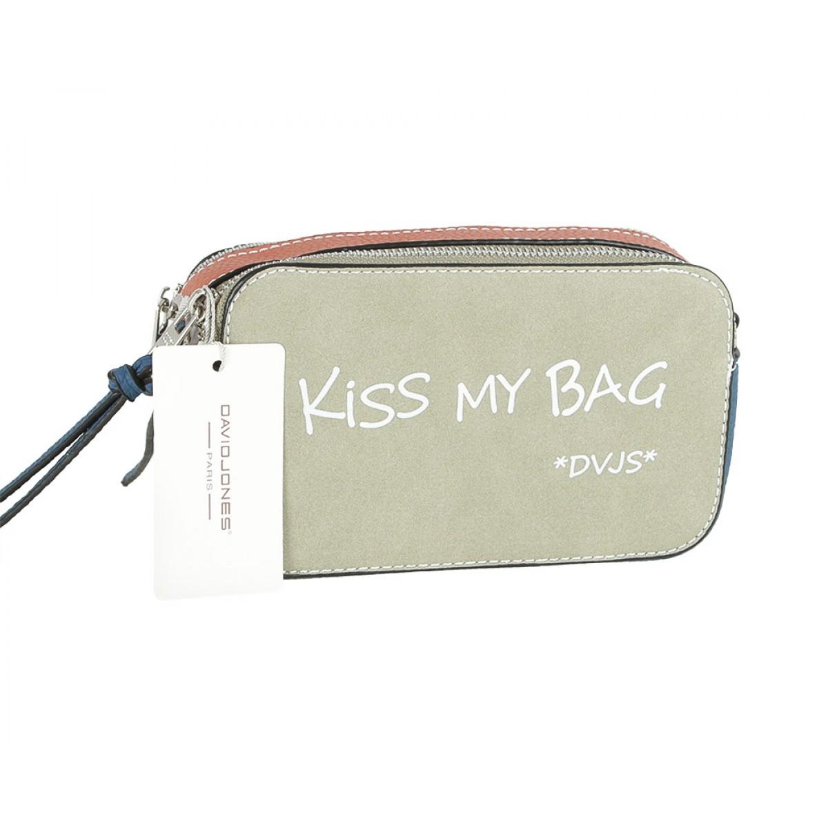 Жіноча сумка David Jones CM5112 KHAKI
