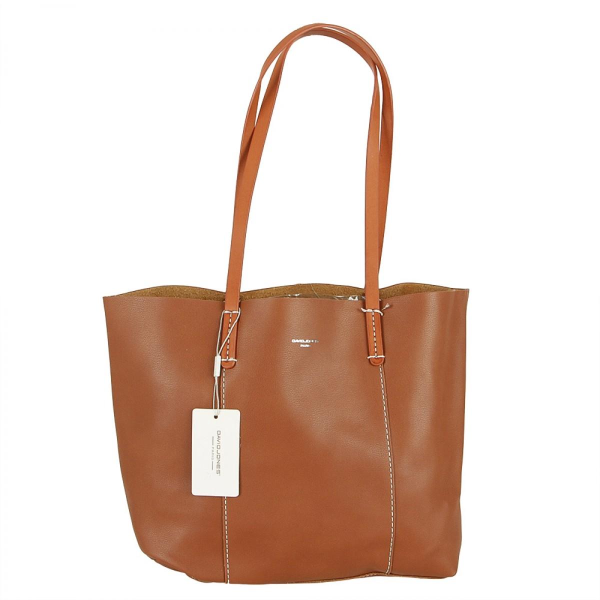 Жіноча сумка David Jones CM5154 COGNAC