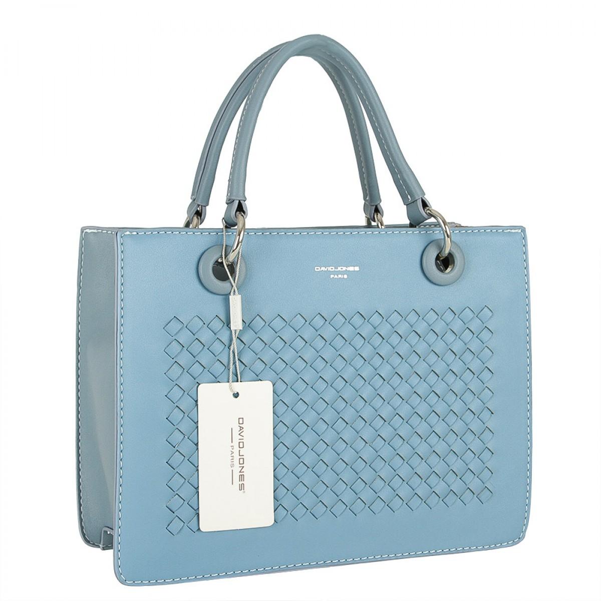 Жіноча сумка David Jones CM5165 L.BLUE