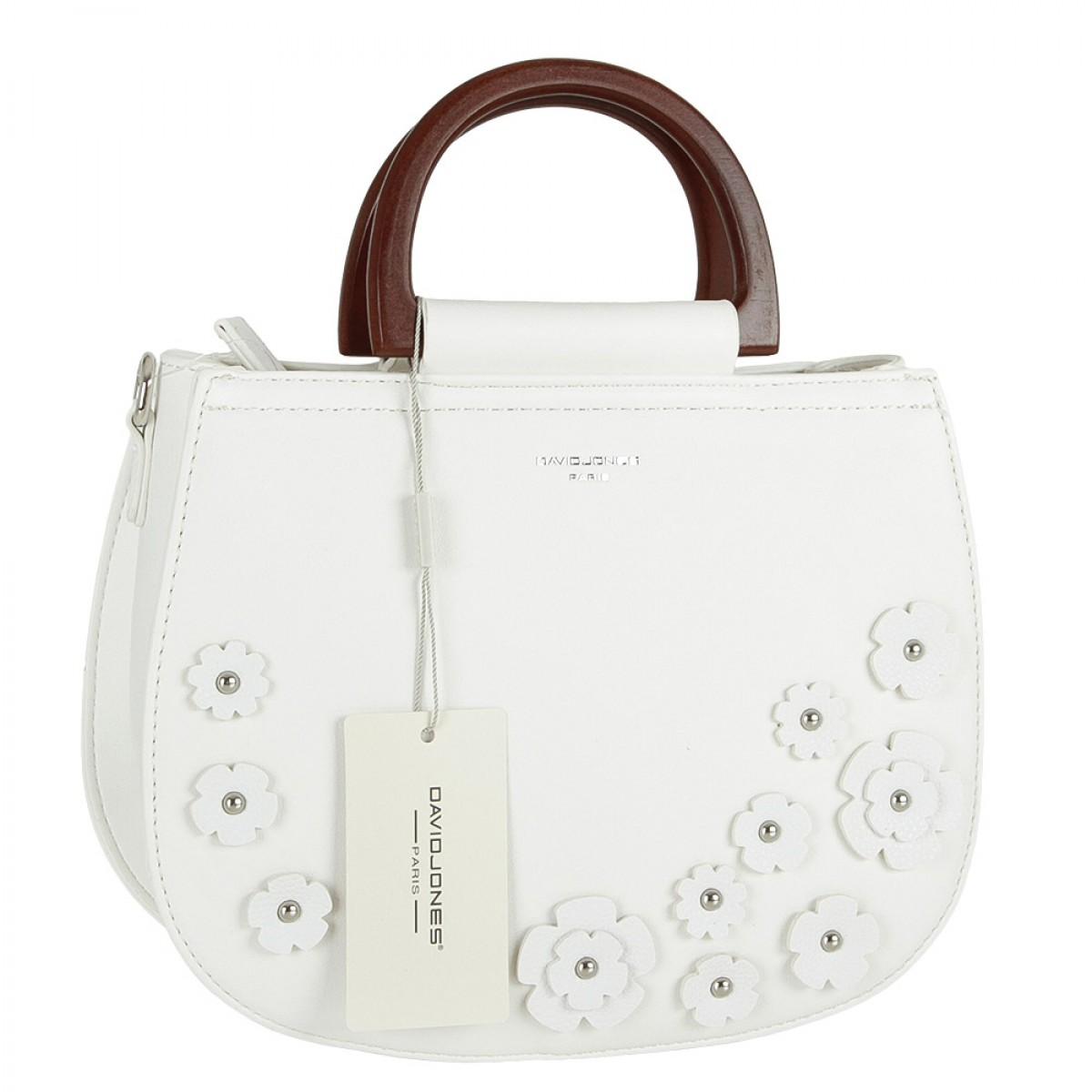 Жіноча сумка David Jones CM5166 WHITE