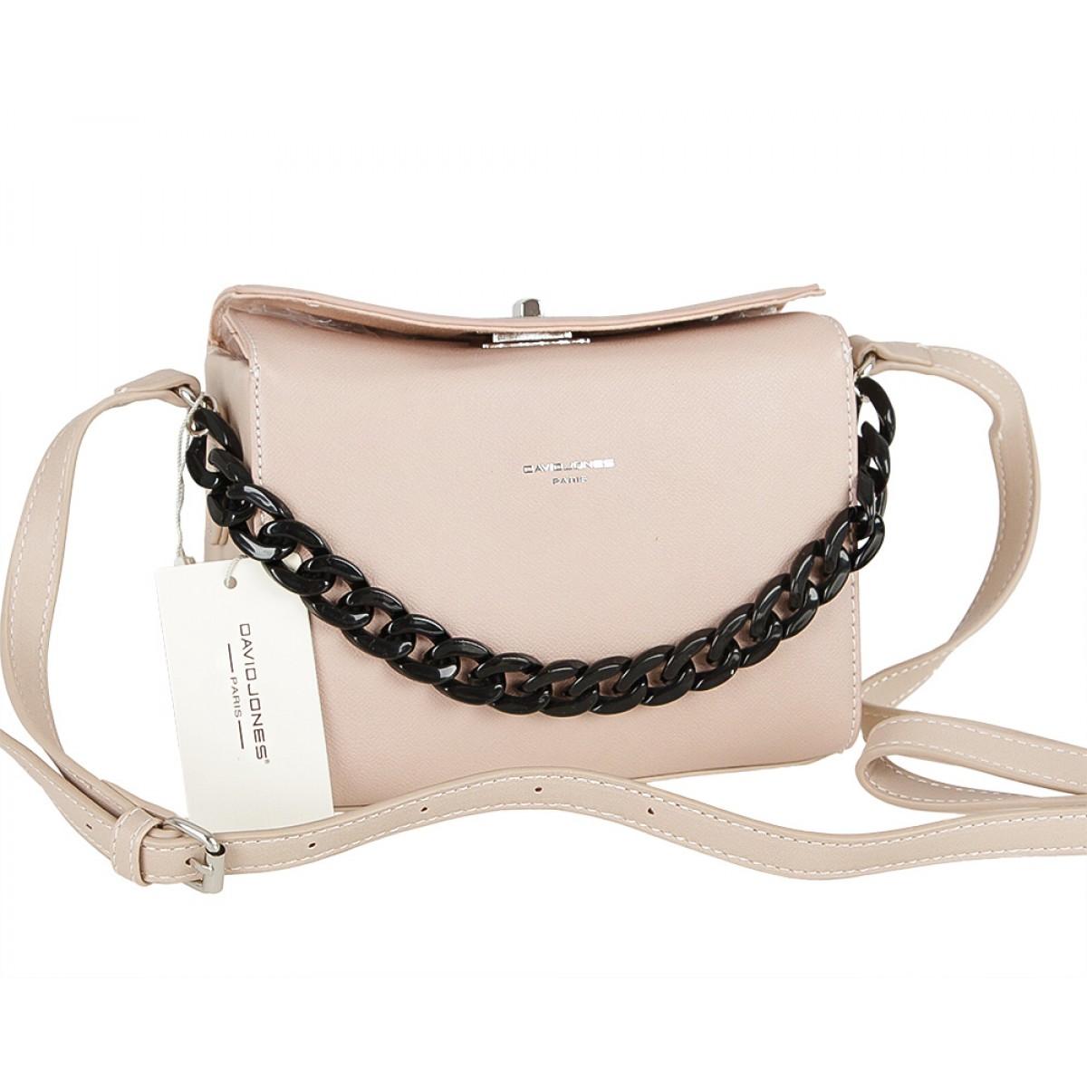 Жіноча сумка David Jones CM5177 PINK
