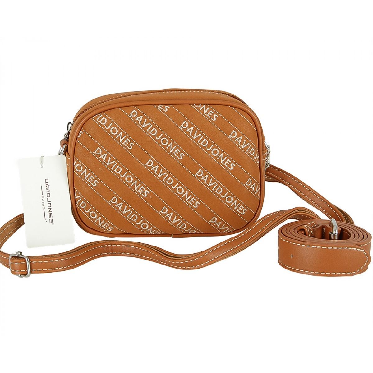 Жіноча сумка David Jones CM5186 COGNAC
