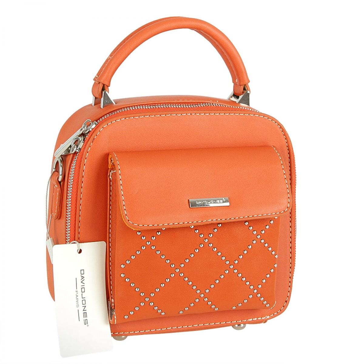 Жіноча сумка David Jones CM5190 ORANGE
