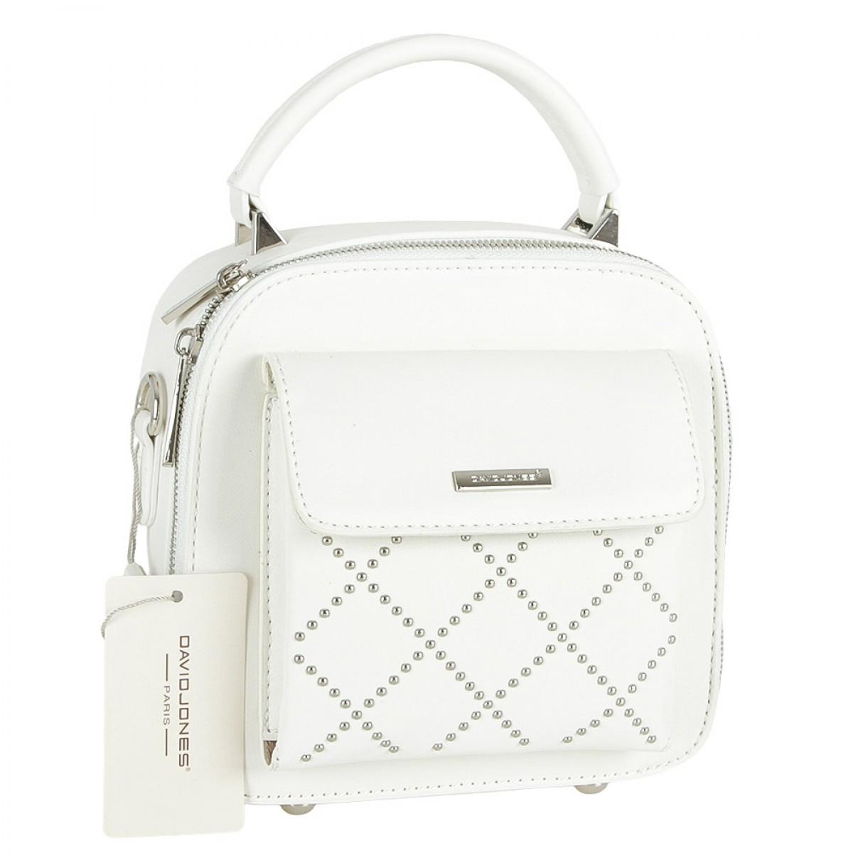 Жіноча сумка David Jones CM5190 WHITE