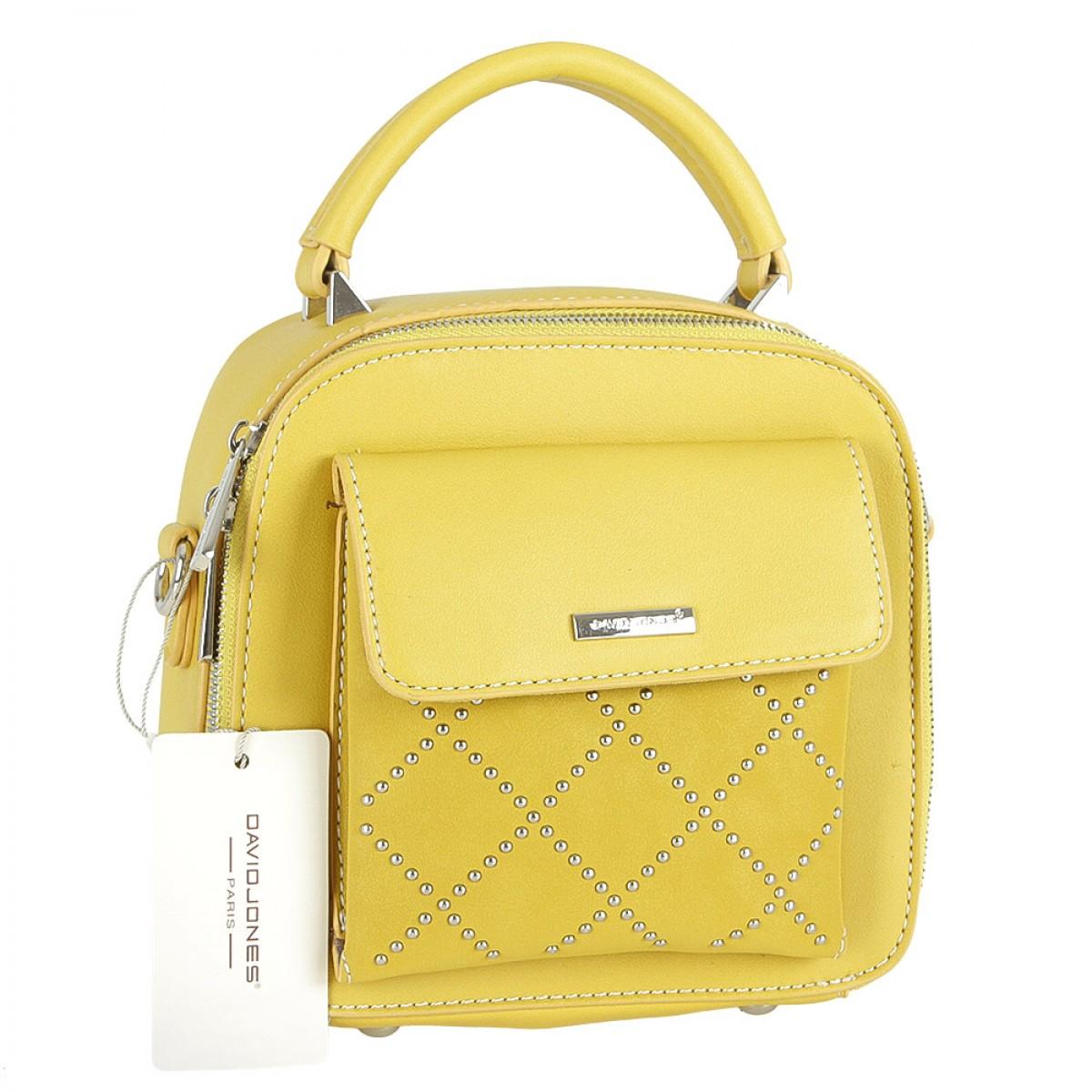 Жіноча сумка David Jones CM5190 YELLOW