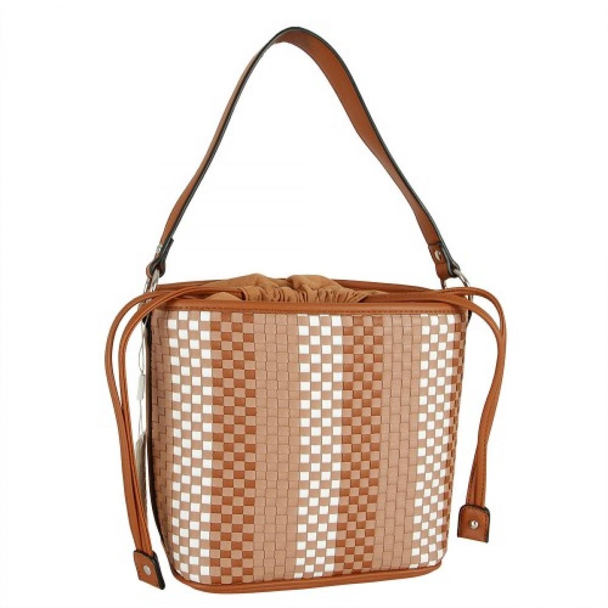 Жіноча сумка David Jones CM5199 COGNAC