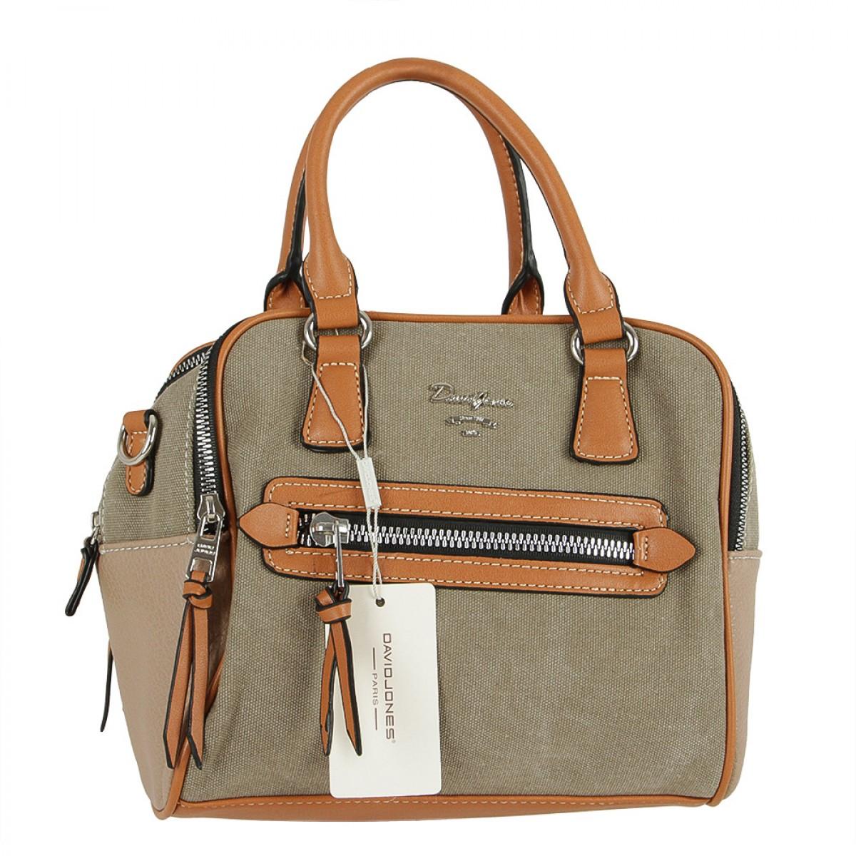 Жіноча сумка David Jones CM5213 BROWN