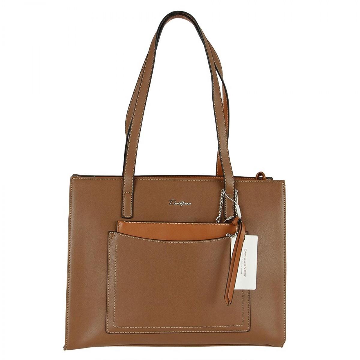Жіноча сумка David Jones CM5305 D.CAMEL