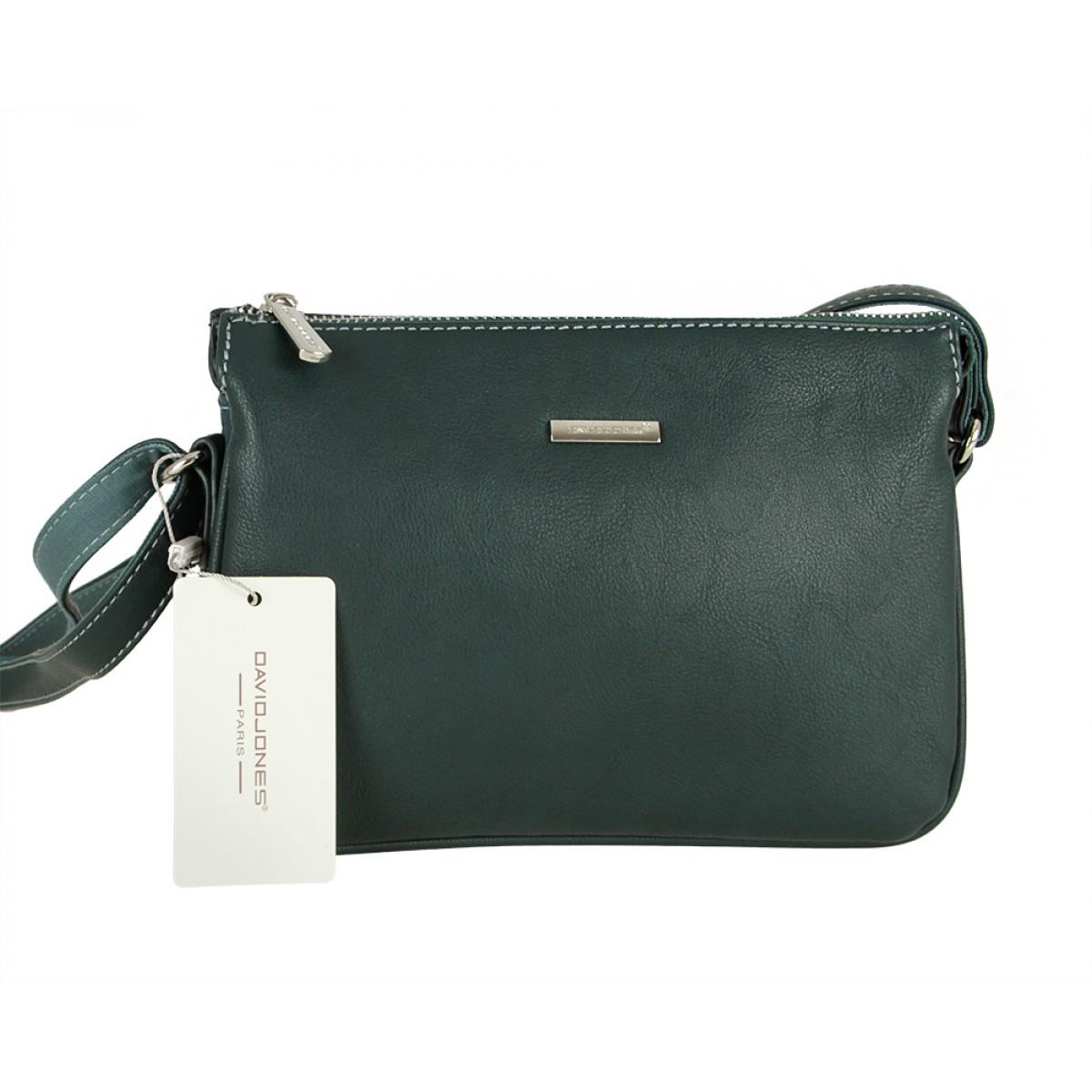 Жіноча сумка David Jones CM5319 D.GREEN