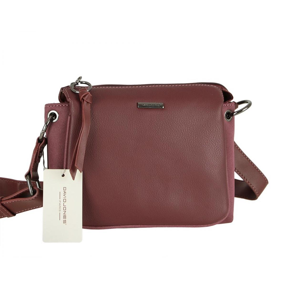 Жіноча сумка David Jones CM5322 DARK BORDEAUX