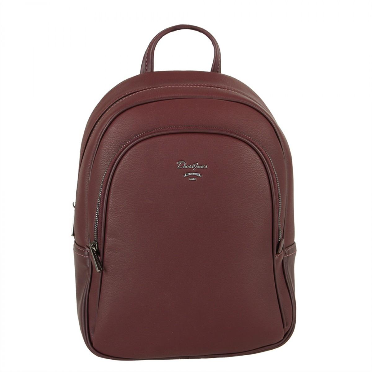 Жіночий рюкзак David Jones CM5323 DARK BORDEAUX