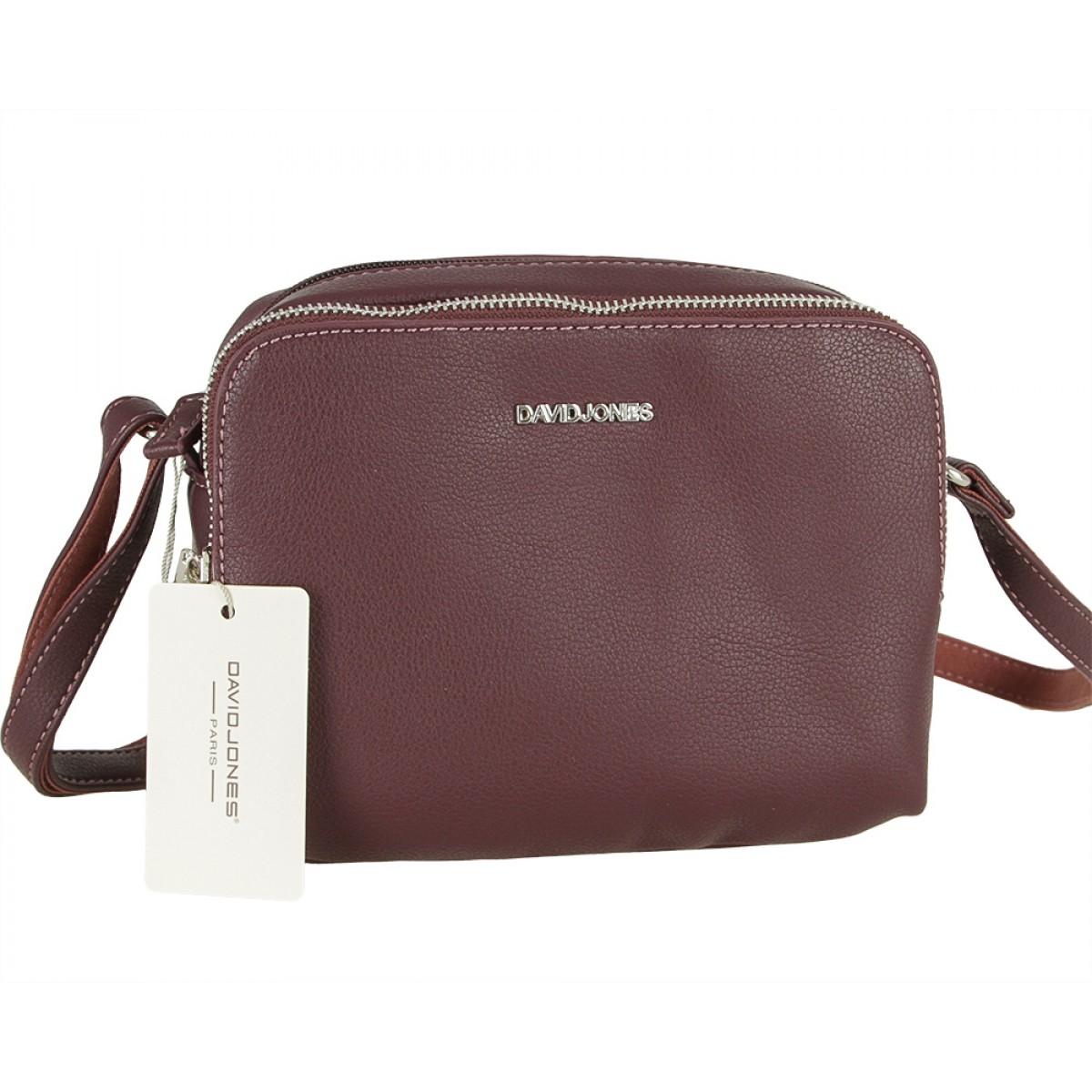 Жіноча сумка David Jones CM5328 D.PURPLE