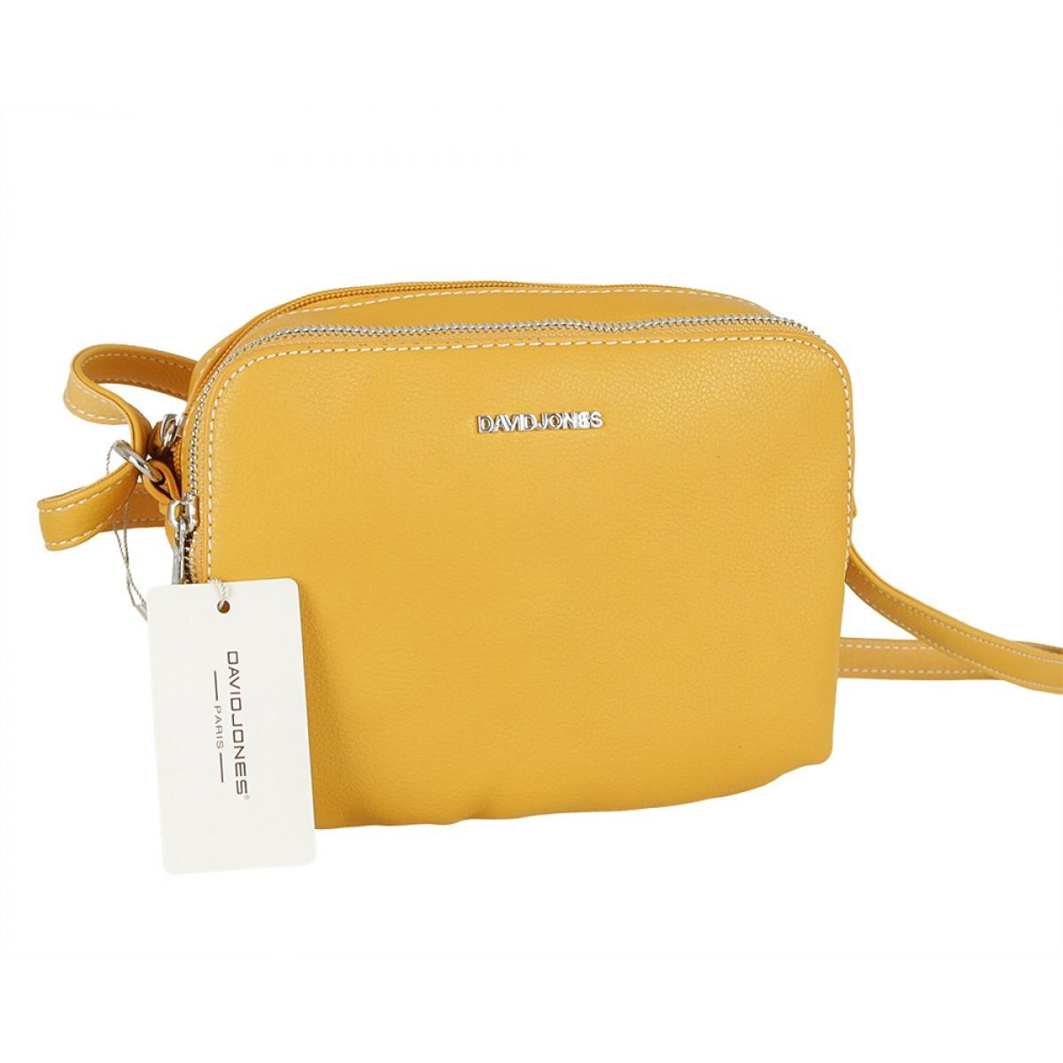 Жіноча сумка David Jones CM5328 YELLOW