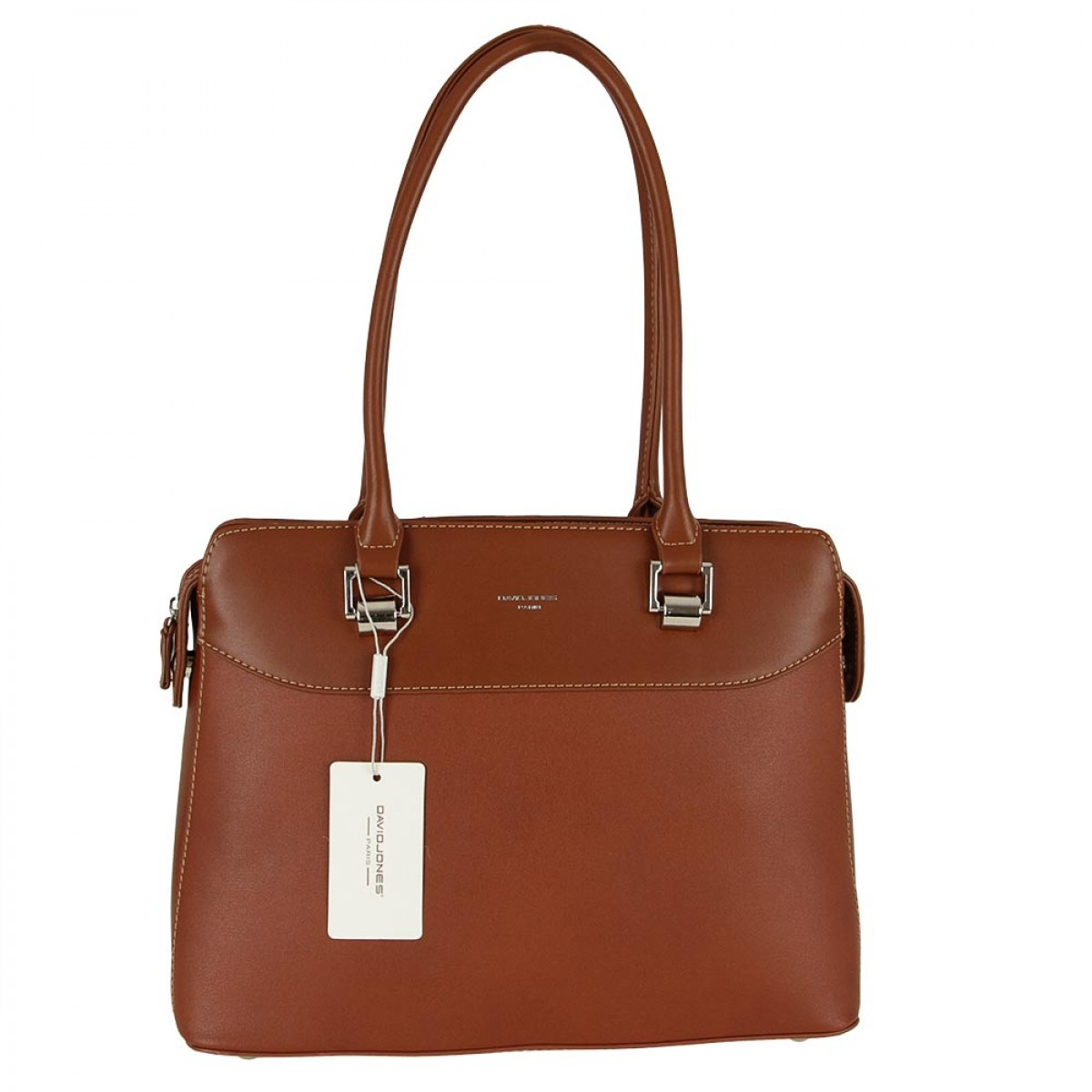 Жіноча сумка David Jones CM5329 COGNAC