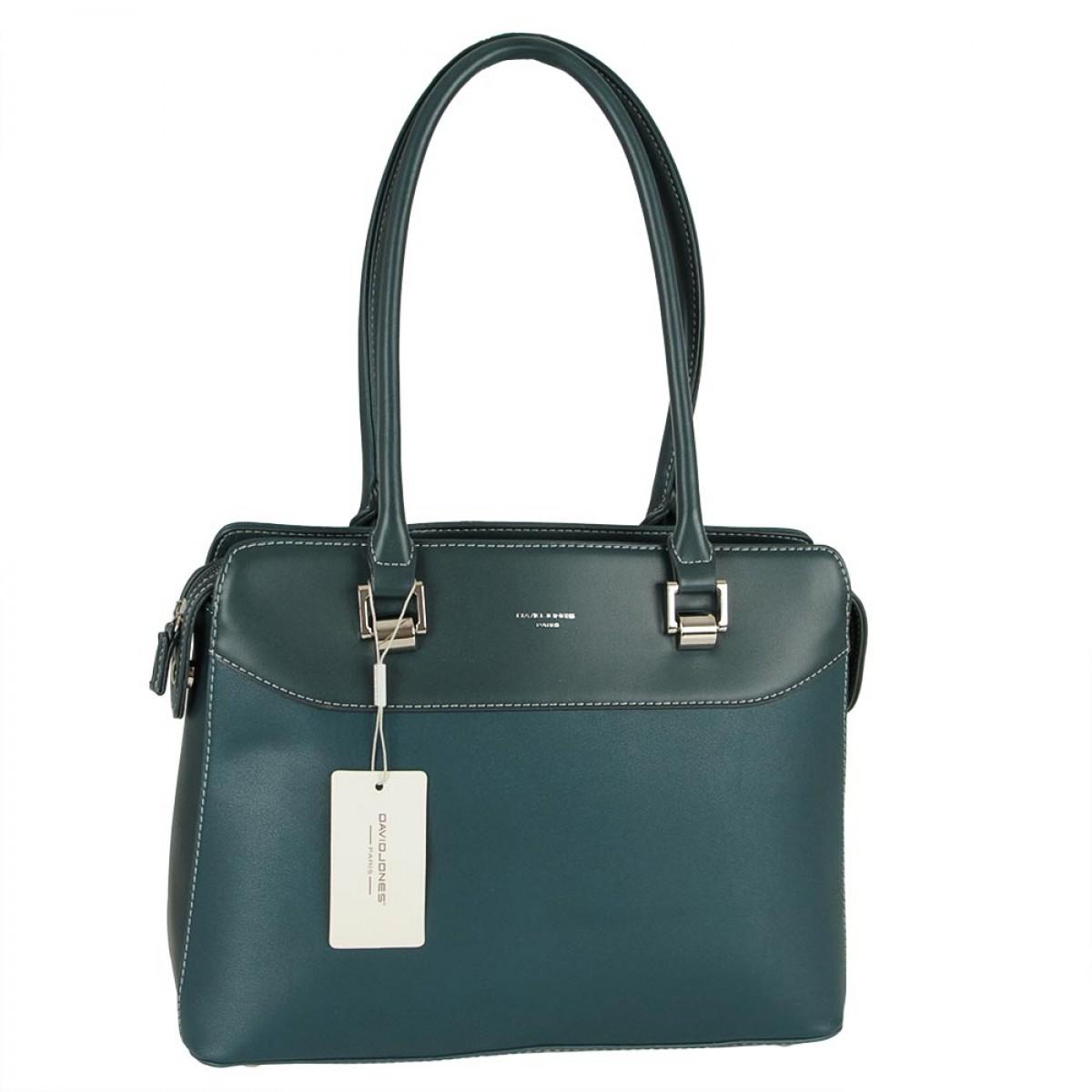 Жіноча сумка David Jones CM5329 D.GREEN