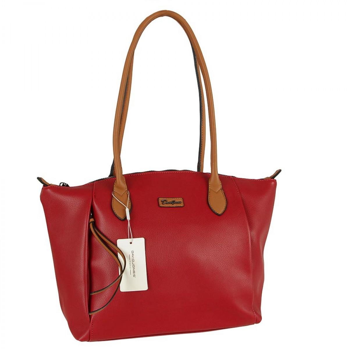 Жіноча сумка David Jones CM5332 RED