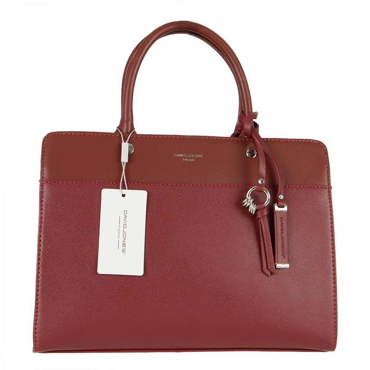 Жіноча сумка David Jones CM5338 DARK BORDEAUX