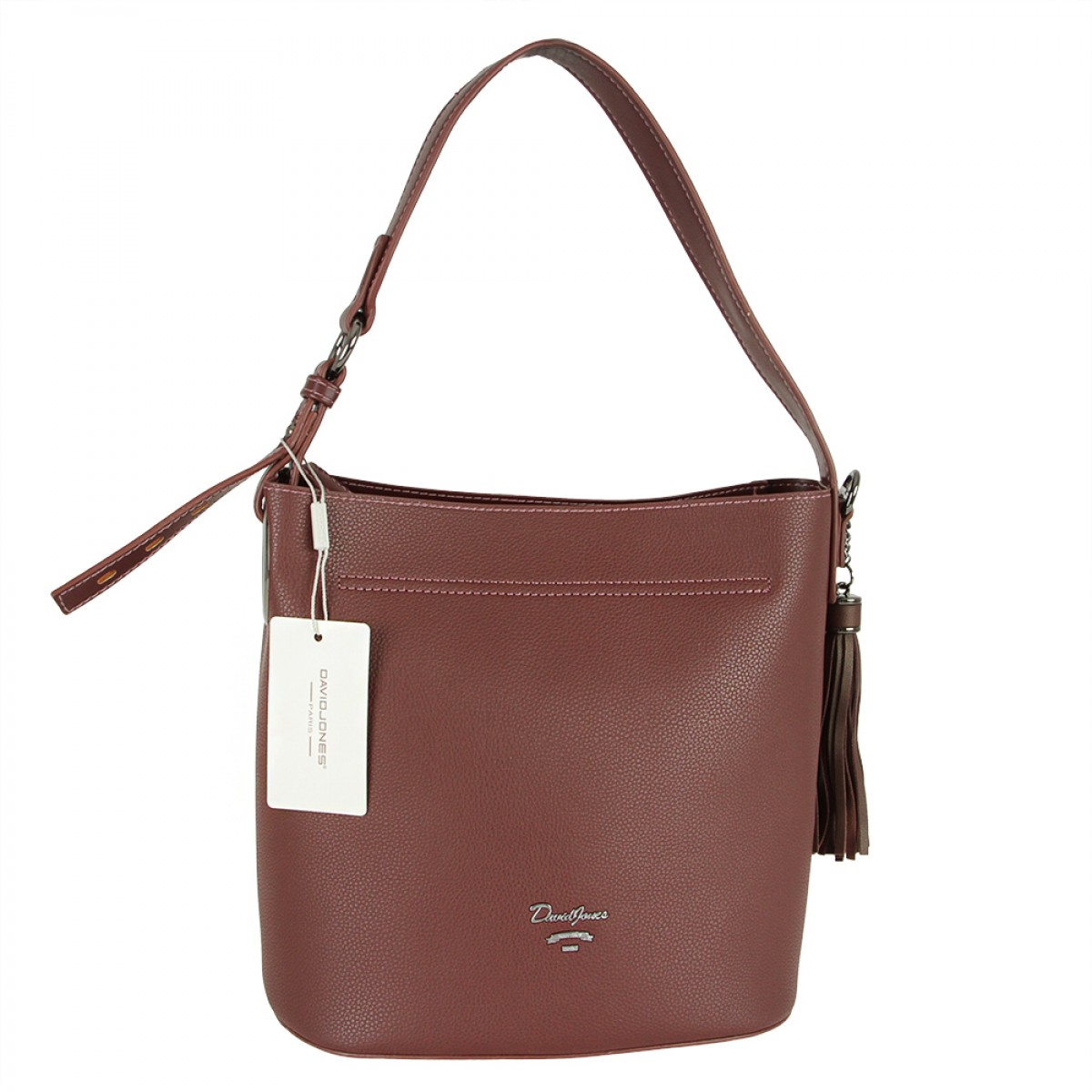 Жіноча сумка David Jones CM5340 DARK BORDEAUX