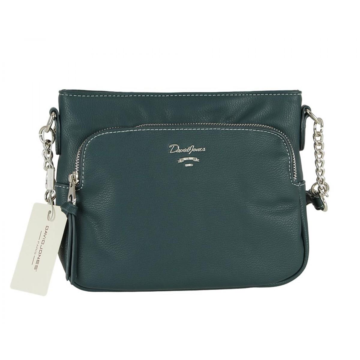 Жіноча сумка David Jones CM5346 D.GREEN