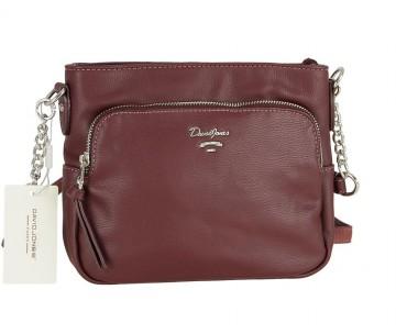 Жіноча сумка David Jones CM5346 DARK BORDEAUX