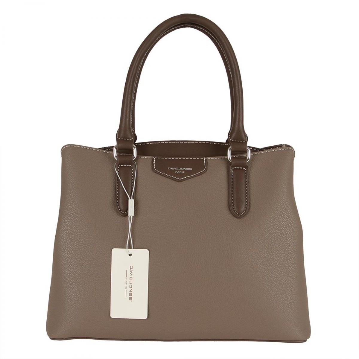 Жіноча сумка David Jones CM5347 D.TAUPE