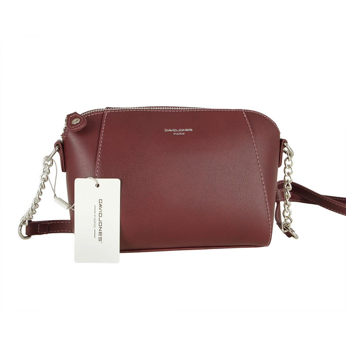 Жіноча сумка David Jones CM5351 DARK BORDEAUX