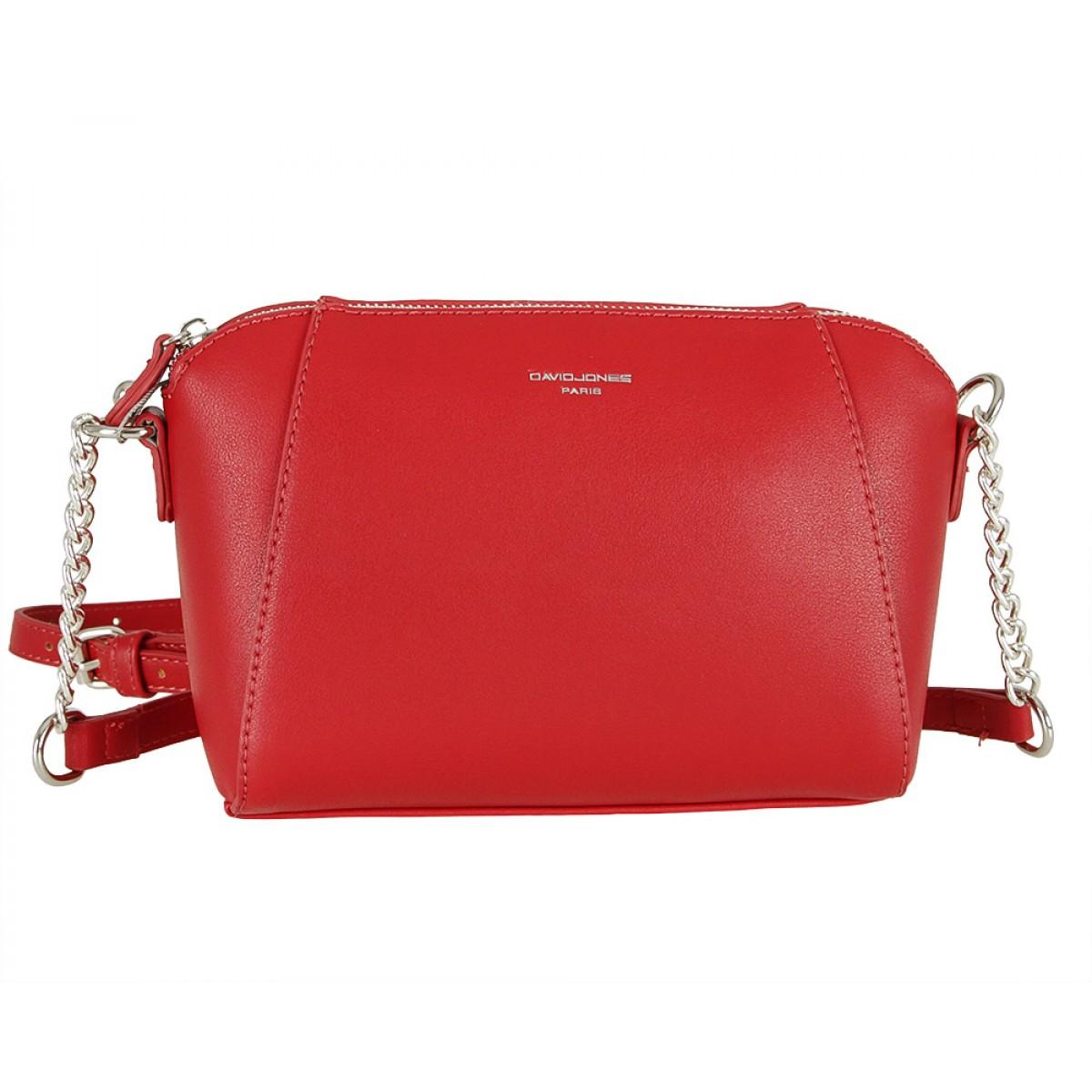 Жіноча сумка David Jones CM5351 DARK RED