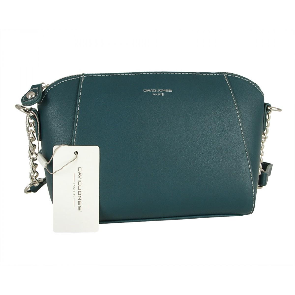 Жіноча сумка David Jones CM5351 D.GREEN