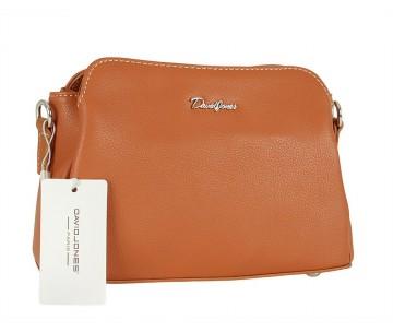 Жіноча сумка David Jones CM5366 COGNAC