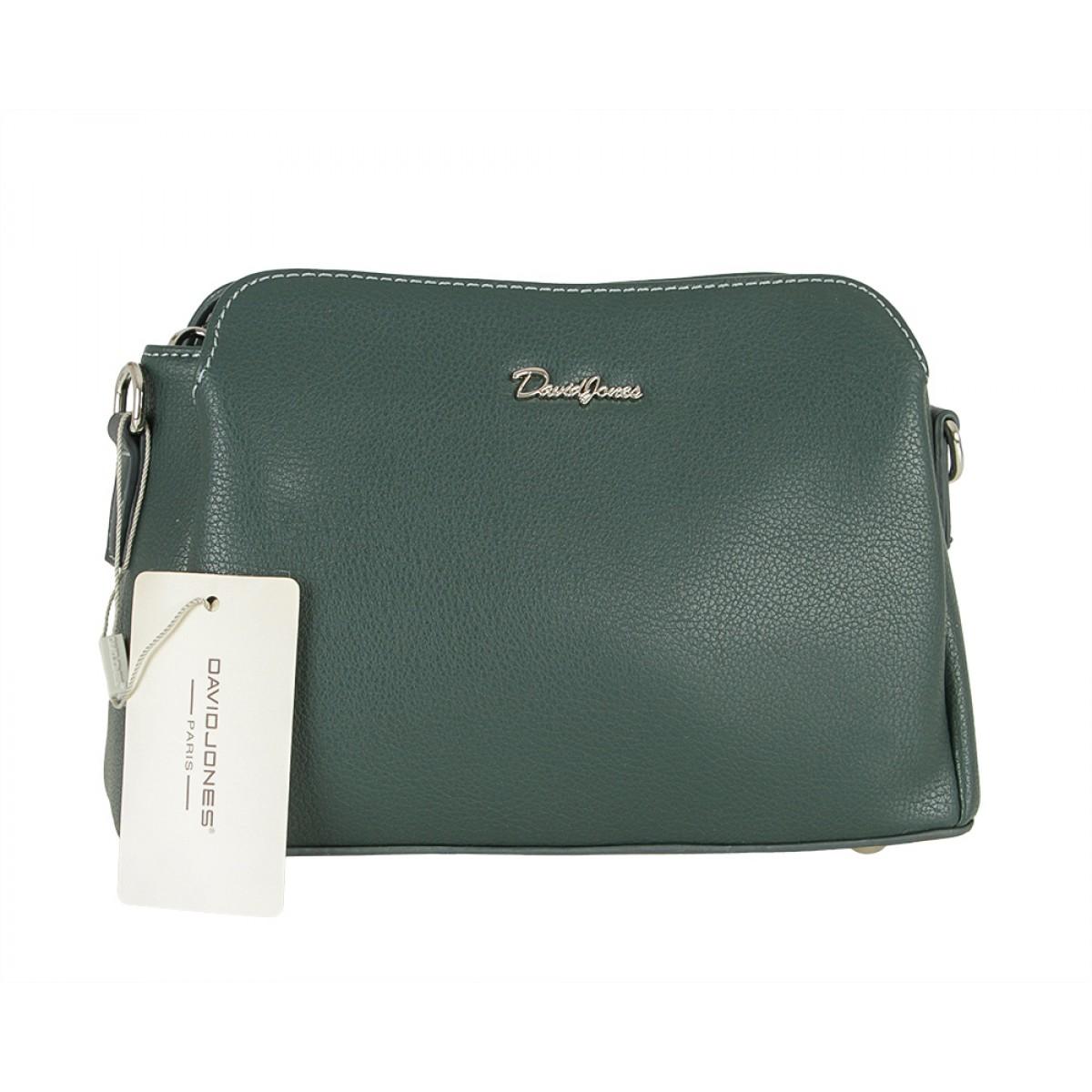Жіноча сумка David Jones CM5366 D.GREEN