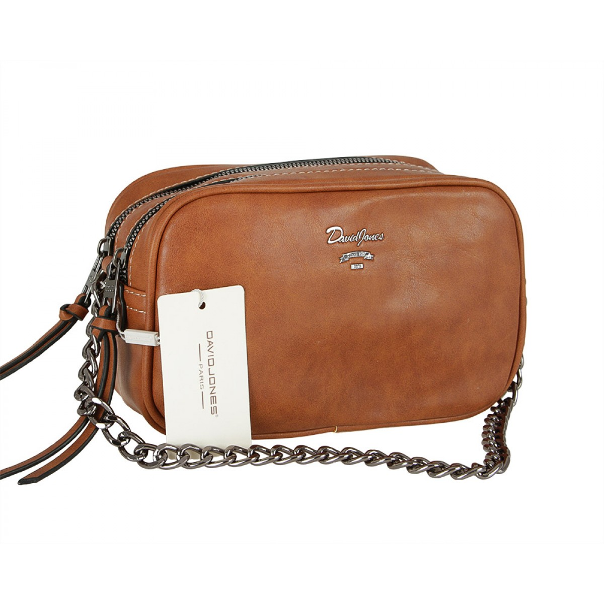 Жіноча сумка David Jones CM5374 BROWN