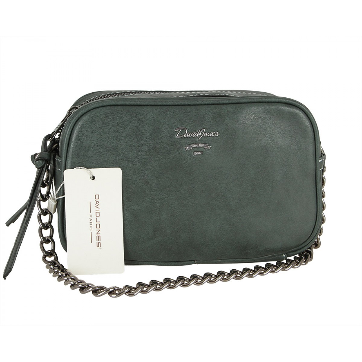 Жіноча сумка David Jones CM5374 D.GREEN