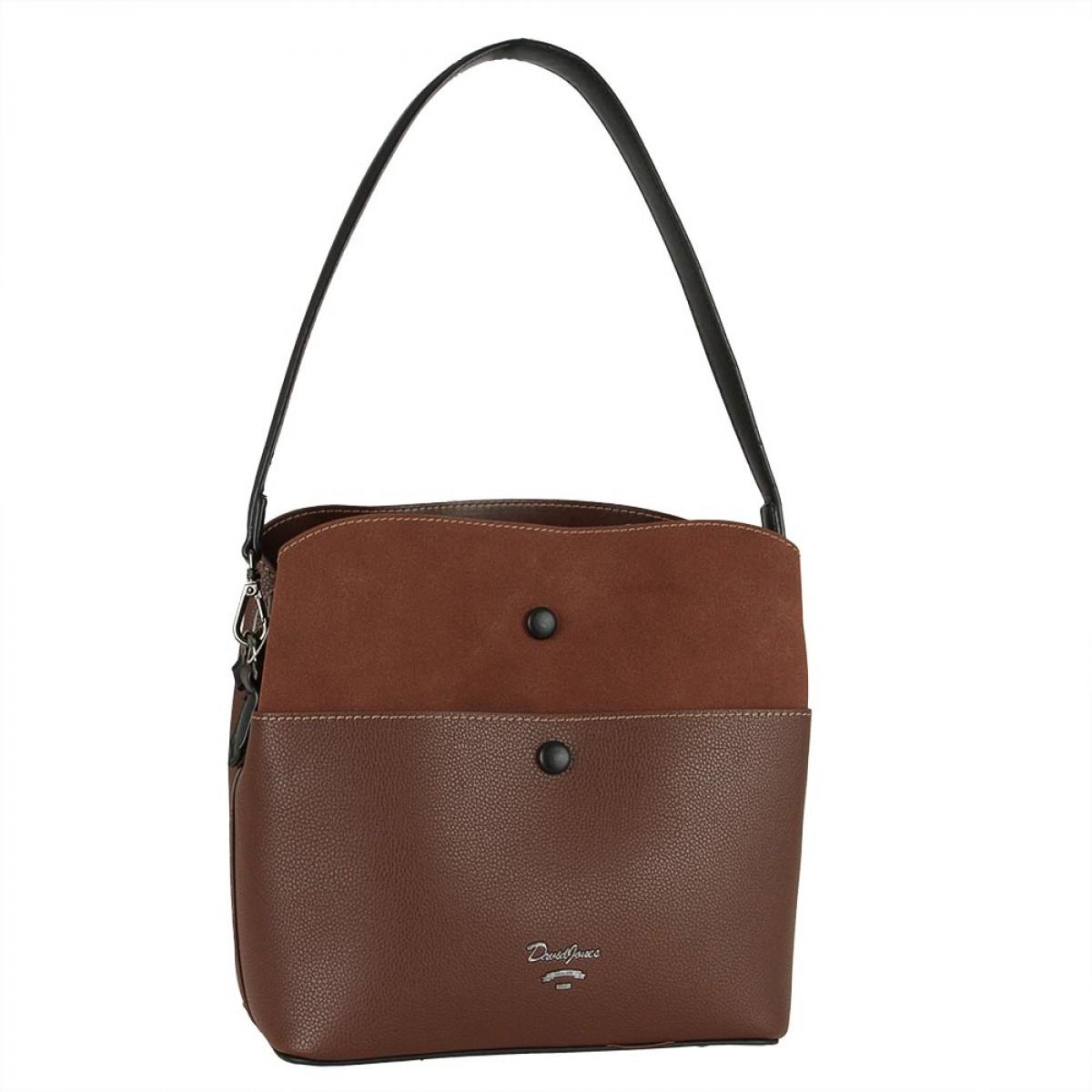 Жіноча сумка David Jones CM5382 D.BROWN