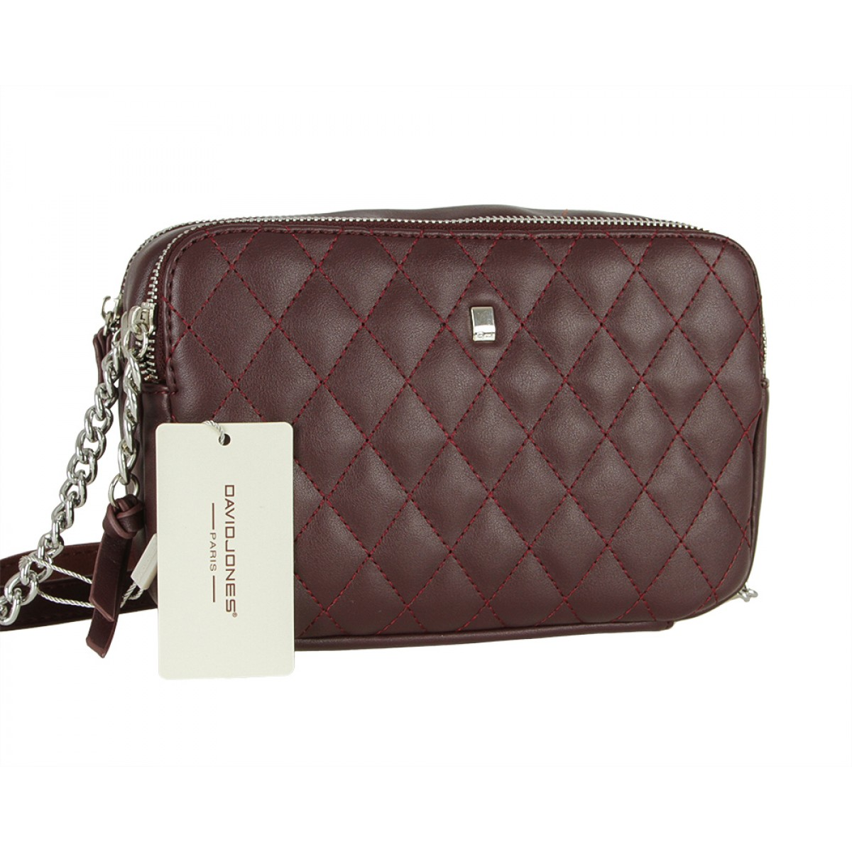 Жіноча сумка David Jones CM5383 DARK.BORDEAUX