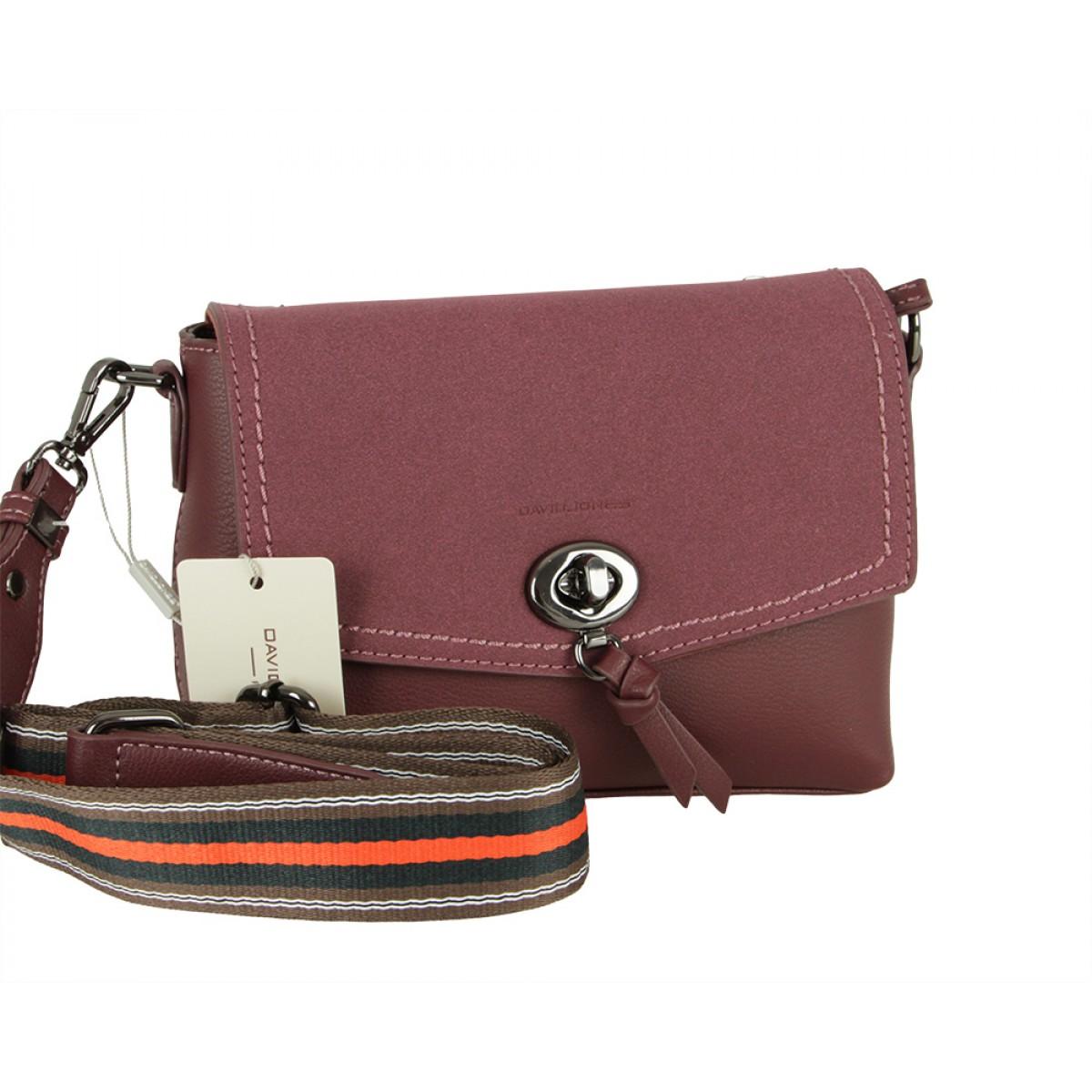 Жіноча сумка David Jones CM5387 DARK BORDEAUX