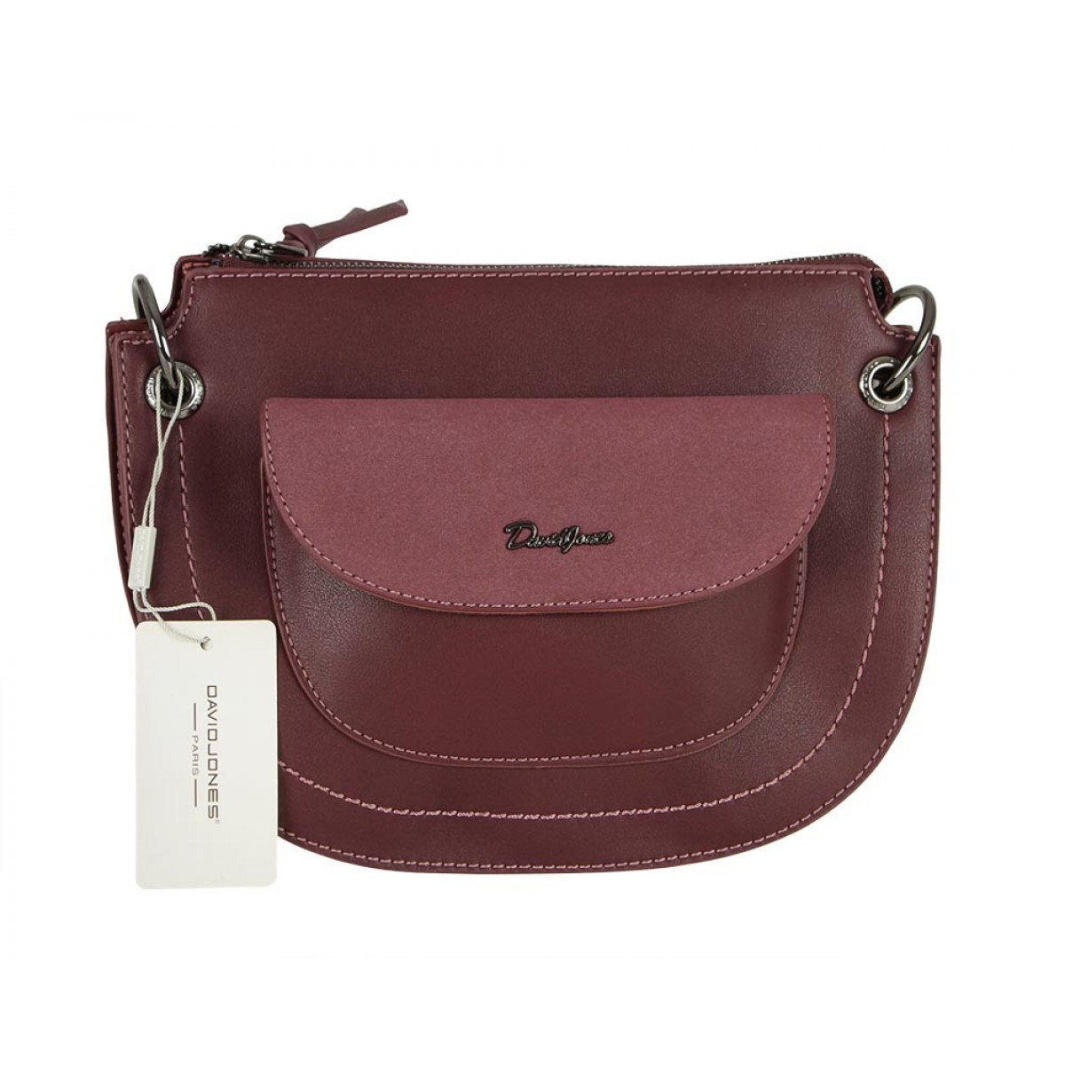 Жіноча сумка David Jones CM5388 DARK BORDEAUX