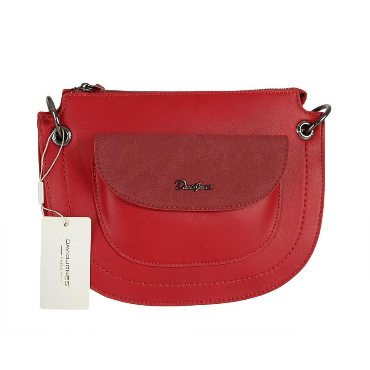 Жіноча сумка David Jones CM5388 RED