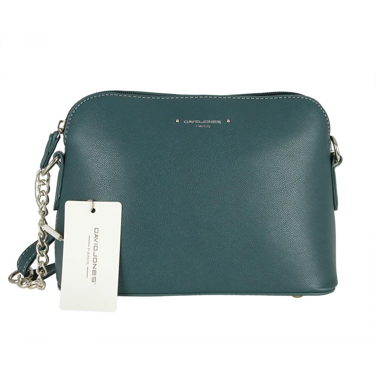 Жіноча сумка David Jones CM5396 D.GREEN