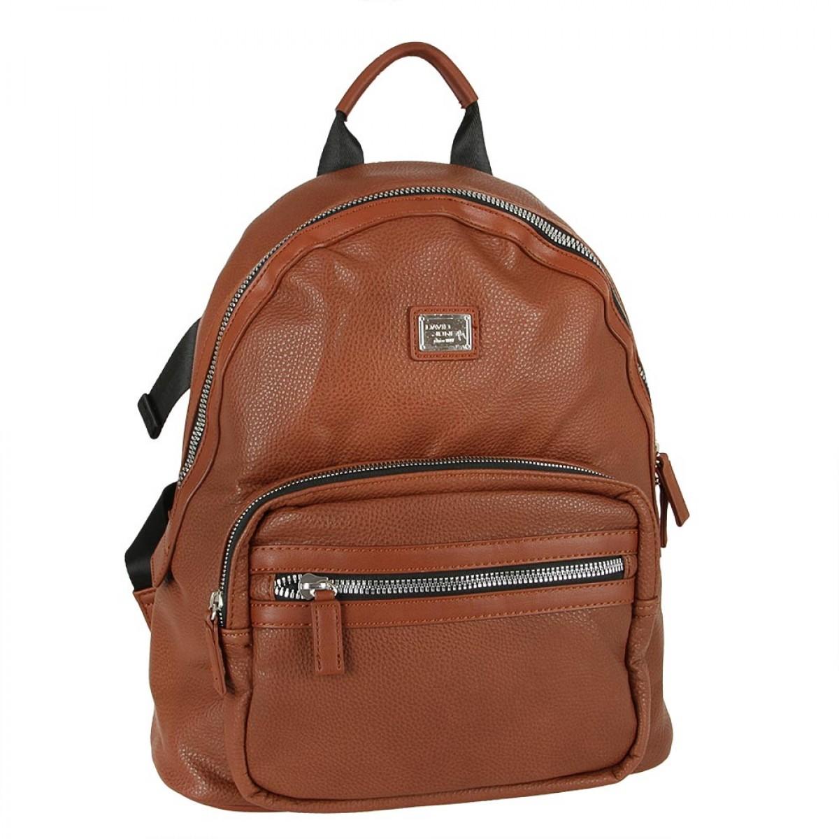 Жіночий рюкзак David Jones CM5402 BROWN