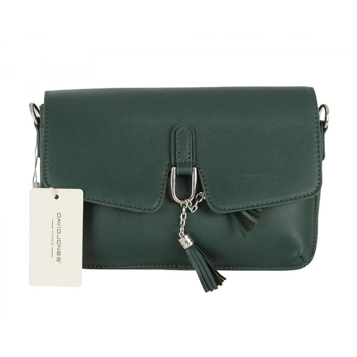 Жіноча сумка David Jones CM5414 D.GREEN