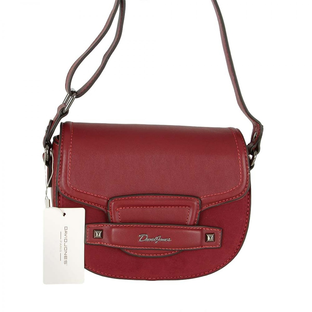 Жіноча сумка David Jones CM5415 DARK RED