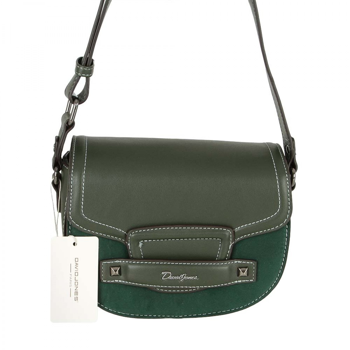 Жіноча сумка David Jones CM5415 D.GREEN