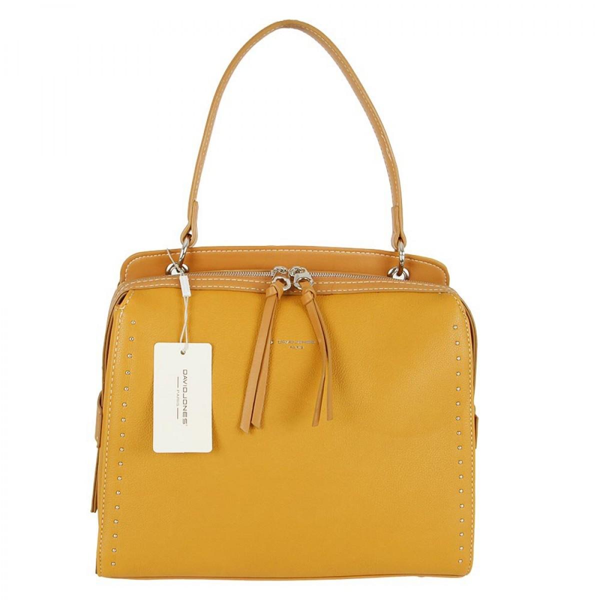 Жіноча сумка David Jones CM5459 MUSTARD