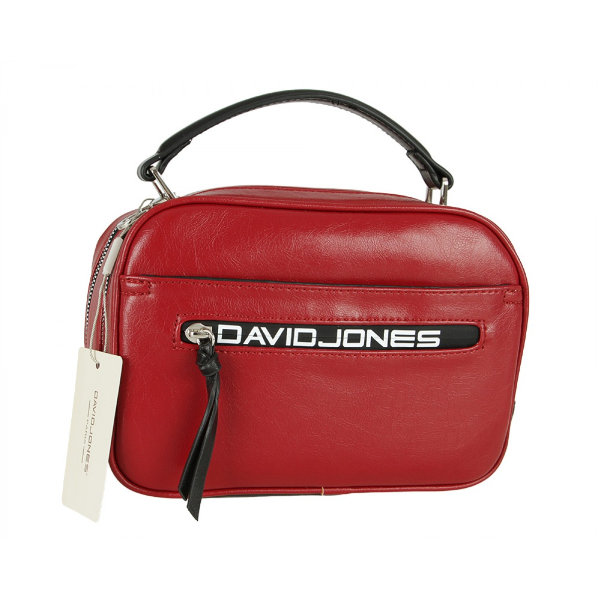 Жіноча сумка David Jones CM5462 DARK RED